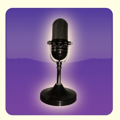 mic logo (purple)