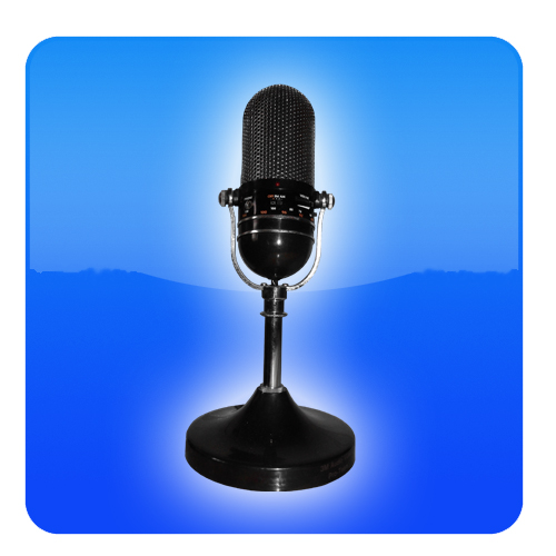 mic logo (blue)
